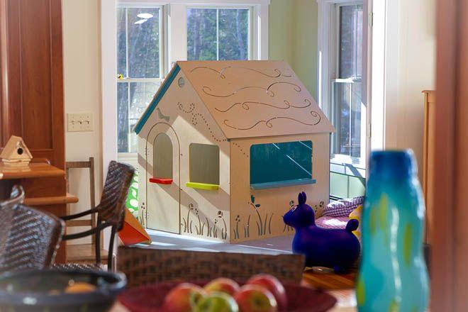 Детские игровые домики из дерева и фанеры Классика
