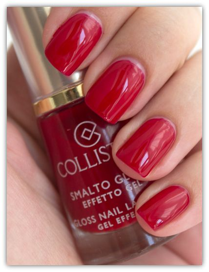 Collistar Gloss Nail Gel Effect no 578 Impulsive Red