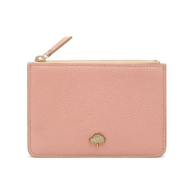 Mulberry - The New Romantics | Tree Coin Pouch in Rose Petal Small Classic Grain