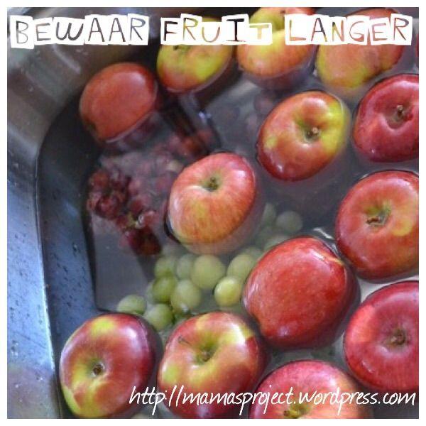 Hoe kan je langer al dat lekkere fruit bewaren?
