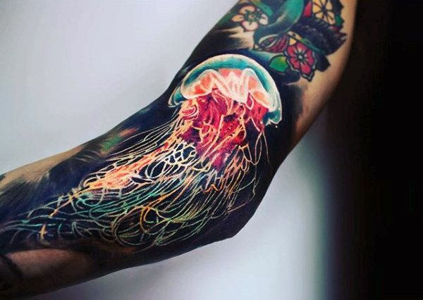 that in mind go ahead and explore these top 100 best jellyfish tattoo ...