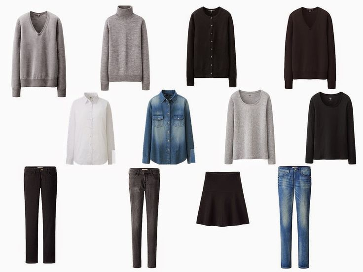 The Vivienne Files: The French 5-Piece Wardrobe + A Common Wardrobe: shades of blue, with black and grey