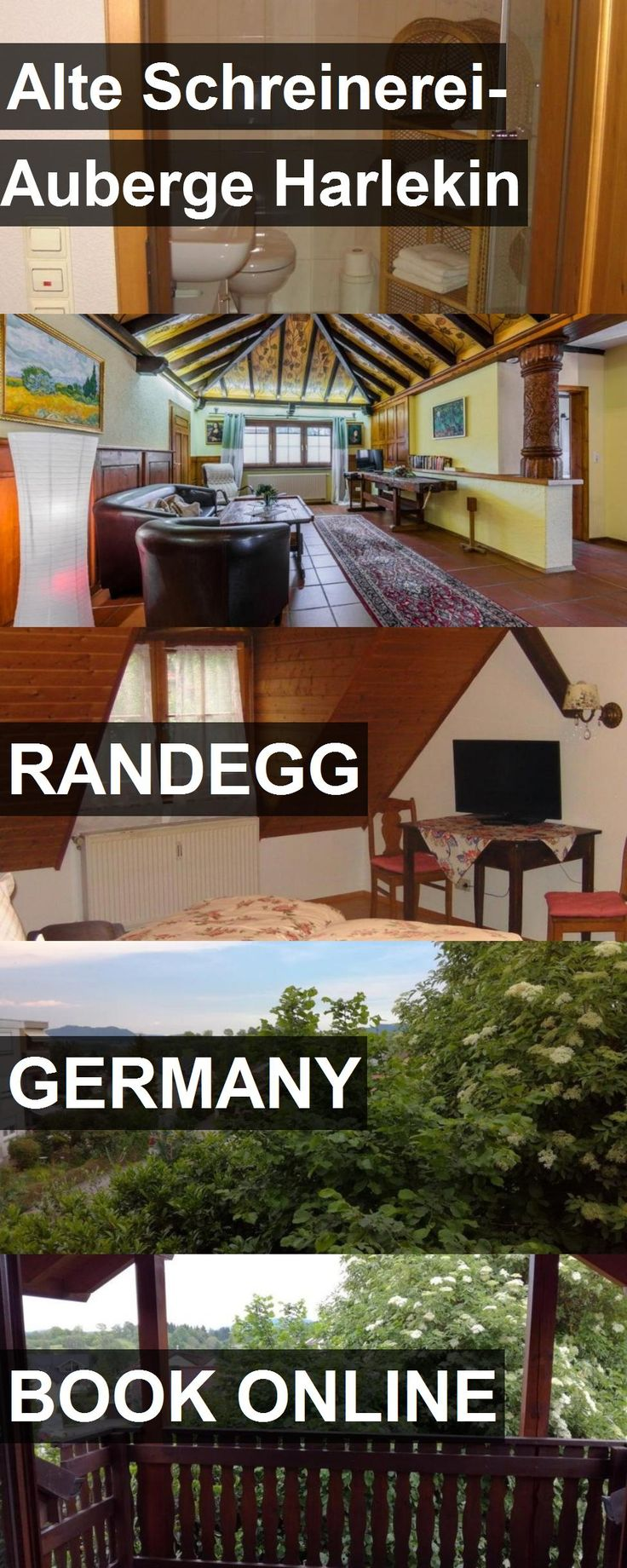 Hotel Alte Schreinerei-Auberge Harlekin in Randegg, Germany. For more information, photos, reviews and best prices please follow the link. #Germany #Randegg #AlteSchreinerei-AubergeHarlekin #hotel #travel #vacation