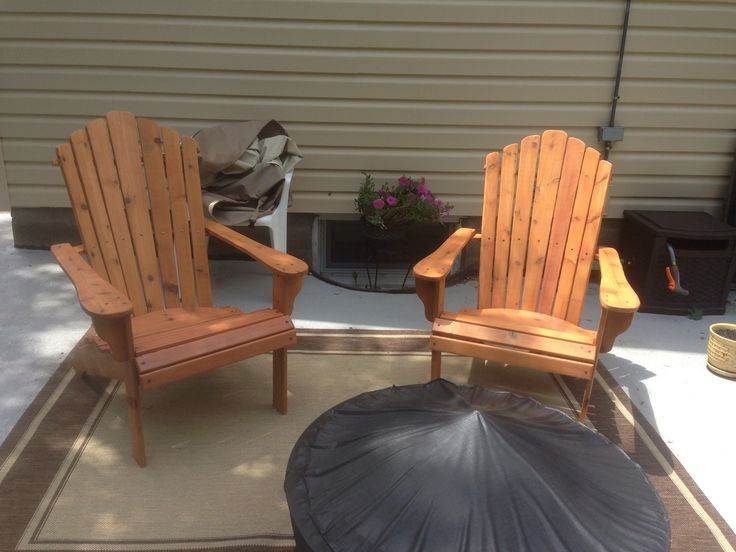 Check out our adirondack chairs at www.anchorwoodwork.etsy.com