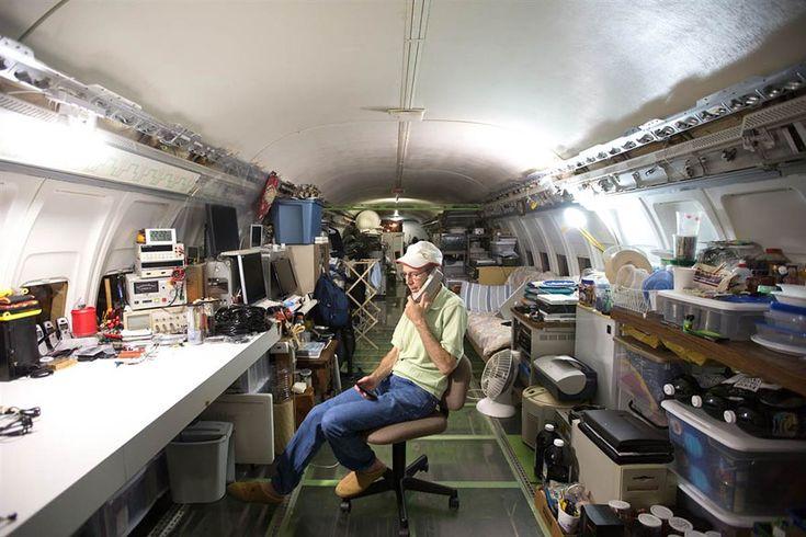 recyclage d un boeing 727 en maison 8   Un vieux Boeing 727 en maison   recyclage photo maison image Bruce Campbell boeing avion 747 727