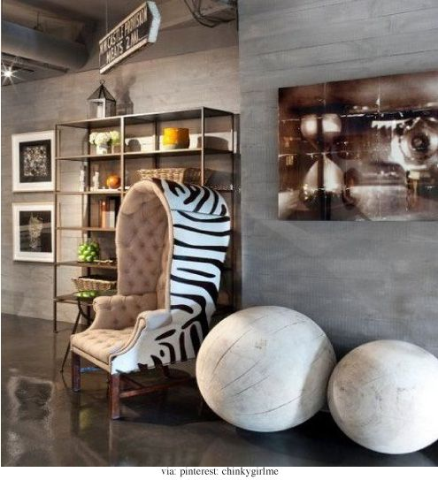 92 best Animal Print Safari Theme images on Pinterest | Chairs ... Ze Animal Print Chaise Lounge Chair on