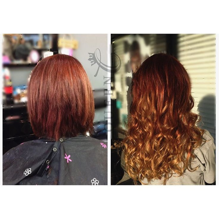 """#WCW is here and we can't believe what a difference these Crown Jewels clip-in extensions in 20""""-180g """"Copper Red"""" made!  What do you think?  Want hair like this? Shop today at http://ift.tt/2p2p2zq"""