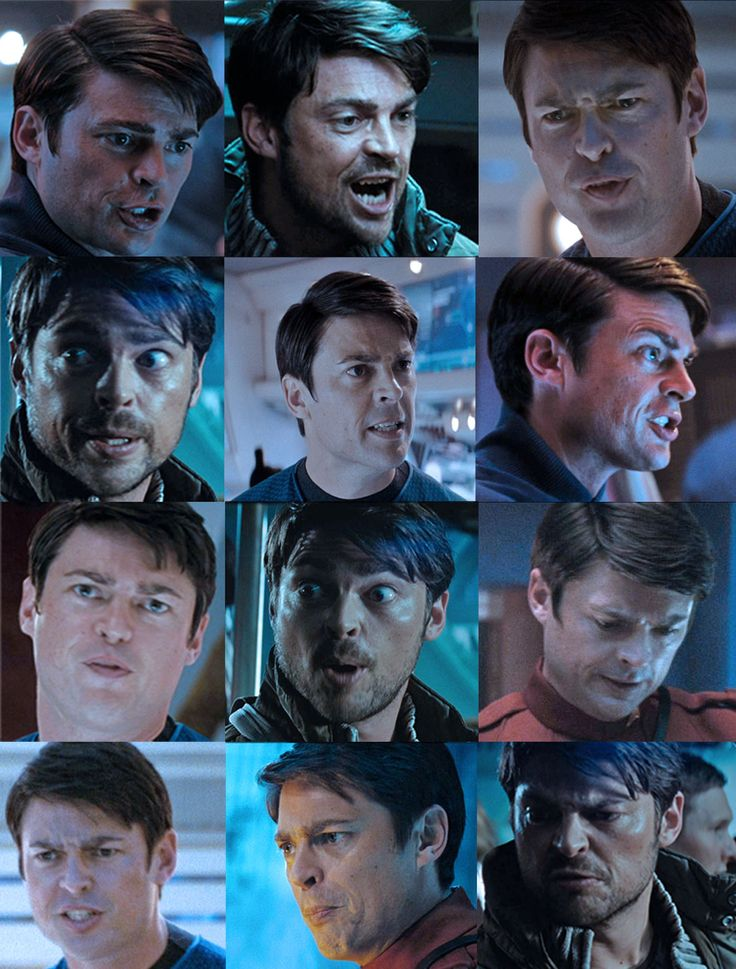 The many faces of Dr. McCoy-PP I can LITERALLY look up his different expressions for hours and just laugh and laugh and wonder how one man can have so many faces