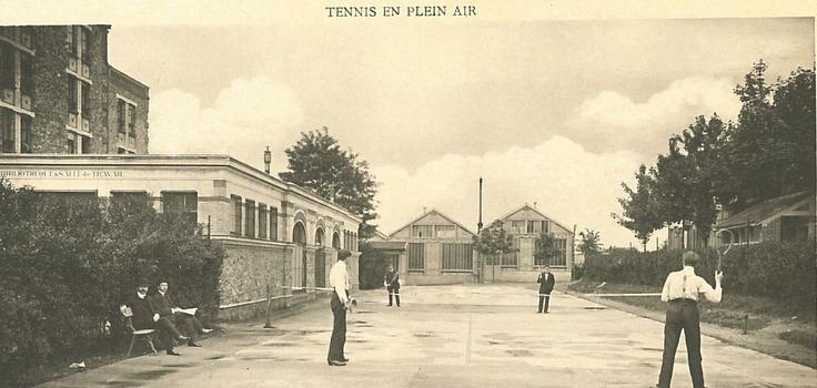 Tennis en plein air