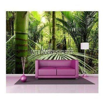 Giant Deco Wall Stickers: Rainforest 1552, 235x160cm