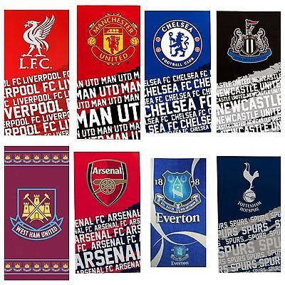 #Official football club team #crest towels beach bath gym swim #licensed,  View more on the LINK: 	http://www.zeppy.io/product/gb/2/141105515772/