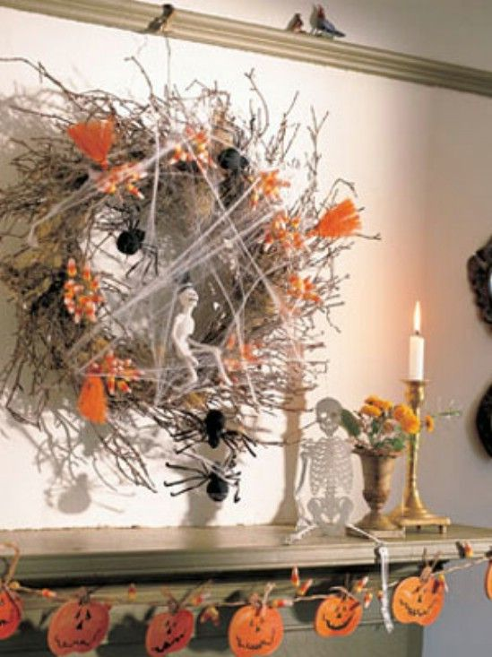 40 easy to make diy halloween decor ideas page 7 of 4 for Easy diy halloween decorations