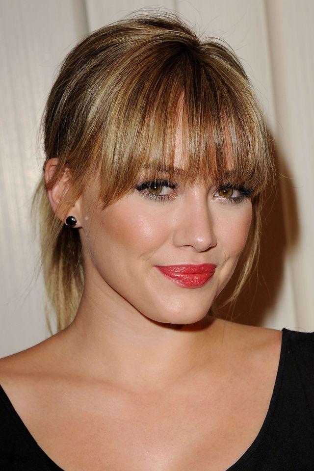 La frange d'Hilary Duff