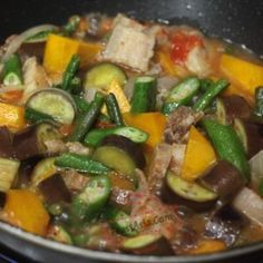 Pinakbet, an Ilocano pork and vegetable stew with shrimp paste | CASA Veneracion