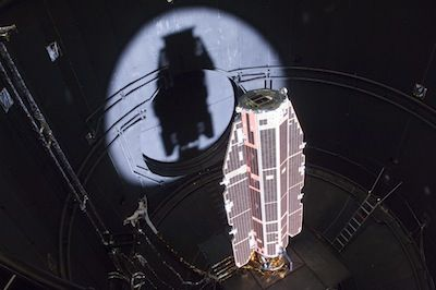 Spaceflight Now | Breaking News | Experts say fall of European satellite poses little risk