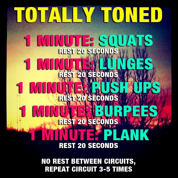 Totally Toned Workout