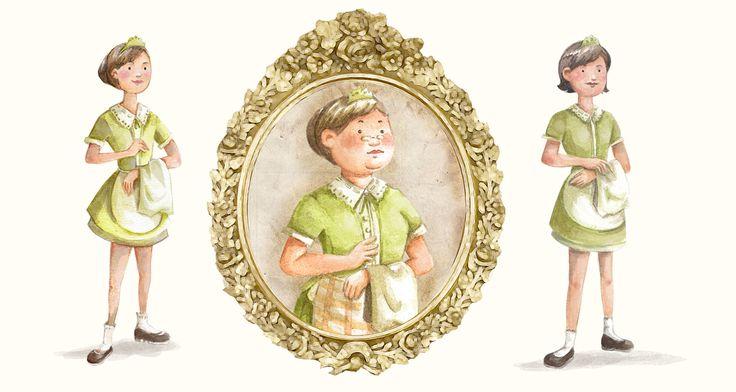 Nanny's Pavillon - Illustration & Gimmick Project on Behance