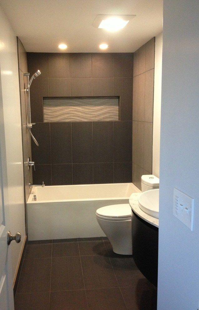 Tremendous Deep Bathtubs decorating ideas for Bathroom Contemporary design ideas with Tremendous black tile blum