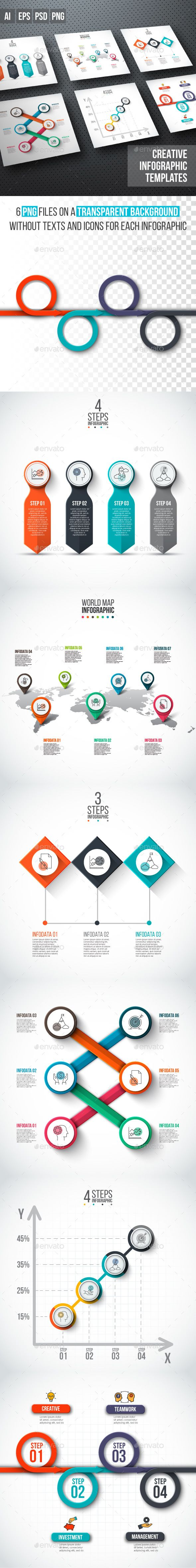 Business infographic diagrams v.14 - #Infographics Download here: https://graphicriver.net/item/business-infographic-diagrams-v14/19508878?ref=alena994