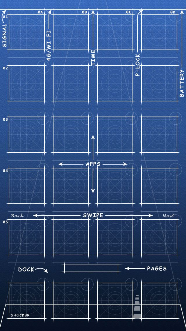 Looking for a new wallpaper for your iPhone? Then try these blueprint wallpapers on your iPhone. These blueprint wallpapers give your device a unique look