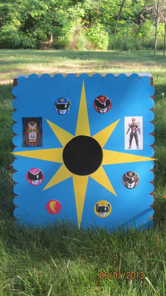 Power Rangers Megaforce Birthday Party Ideas