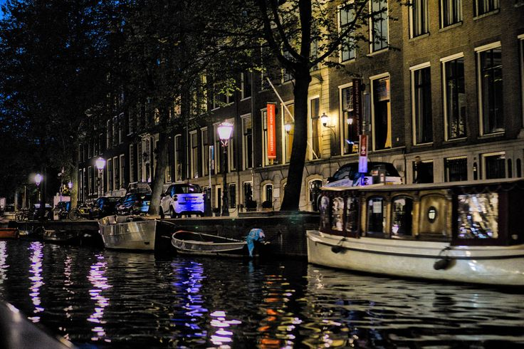 Night Canal Cruise in Amsterdam