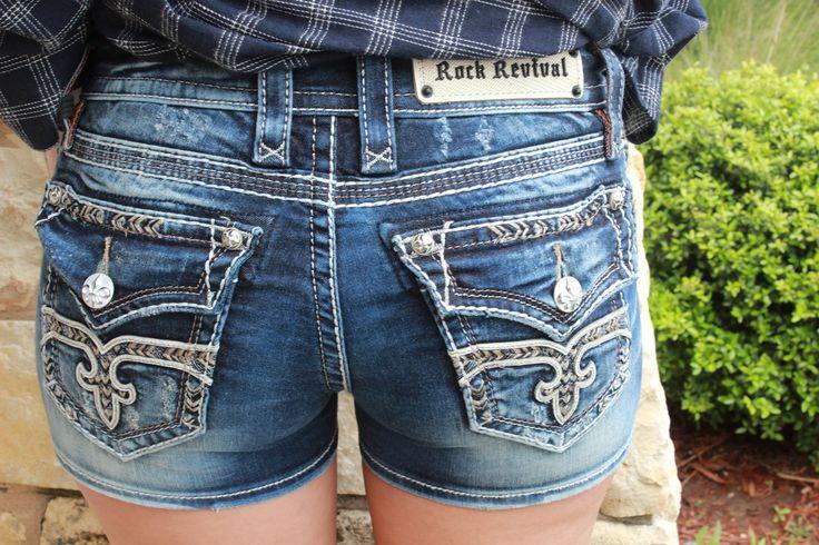 Anais Rock Revival Shorts