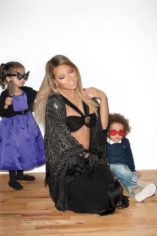 Mariah Carey & her little ones