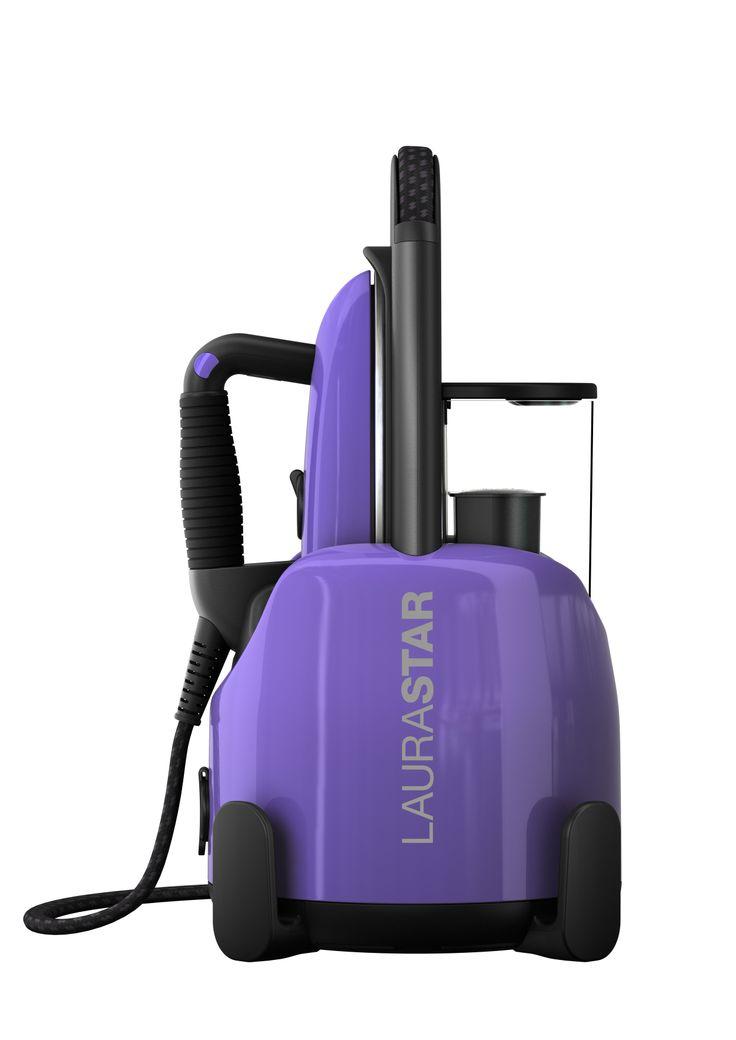 Laurastar Lift steam centrals in limited edition Happy Purple #ironing #design #swisstechnology
