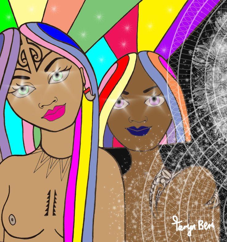 M?ori Art by Taryn Beri