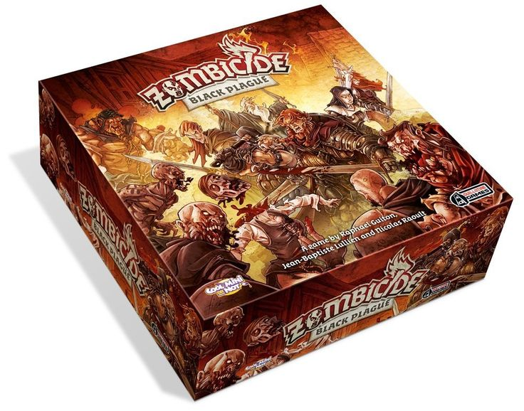 Amazon.com: Zombicide Black Plague Board Game: Toys & Games