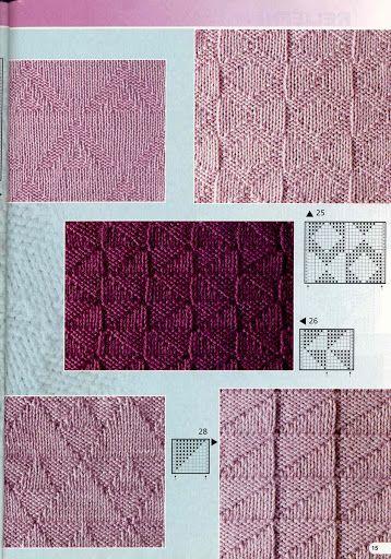Burda 2003 1 E682 Nejkrásnější vzory - Isabela - Knitting 2 - Picasa Web Albums