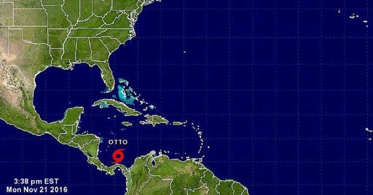 A punto de finalizar la temporada ciclónica se forma la décimosexta depresión tropical al suroeste del Caribe