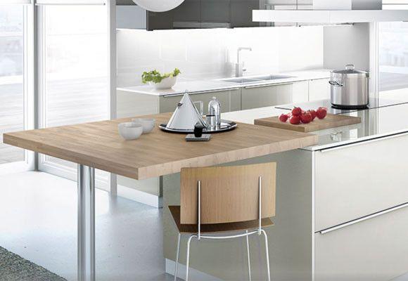 Prolongacion encimera de cocina otra altura buscar con - Altura encimera cocina ...