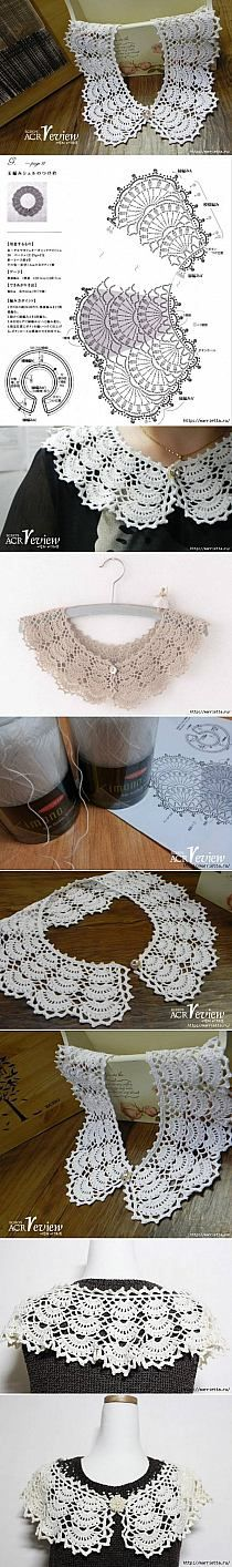 DIY Open Work Crochet Collar DIY Projects | UsefulDIY.c…