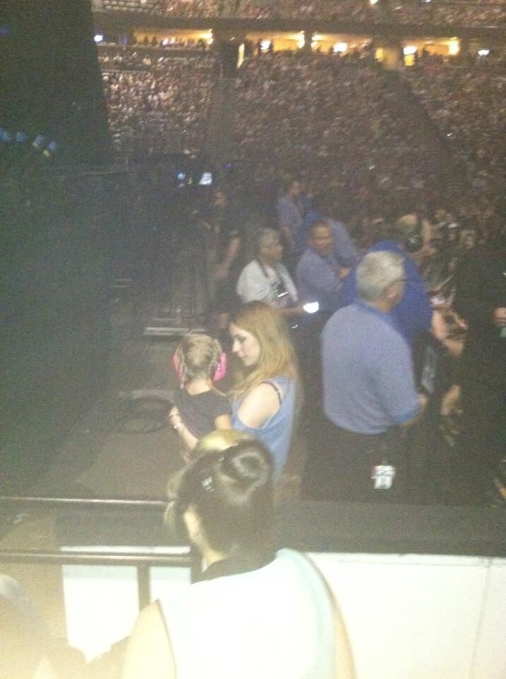 Lux and Gemma at the dENVER CONCERT I CAN'T HANDLE IT. -H