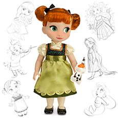 Disney Animators' Collection Anna Doll - 16'' - FrozenAll Animator Dolls only $15 right now