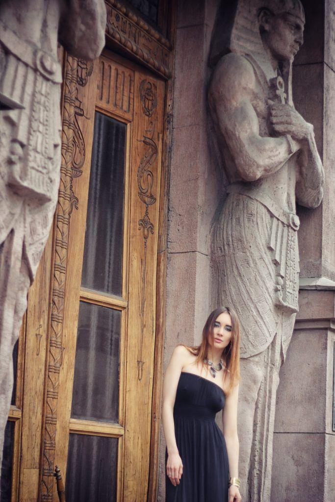 Saint-Petersburg, Egypt House. Model: Alina.