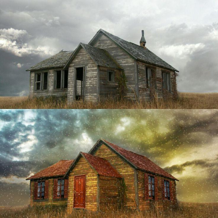PHOTOSHOP CC   Photoshop CC ile virane bir evi bile kartpostala dönüştürmek mümkün.   facebook.com/wisephoto.pro  twitter.com/wisephotopro  instagram.com/wisephotopro