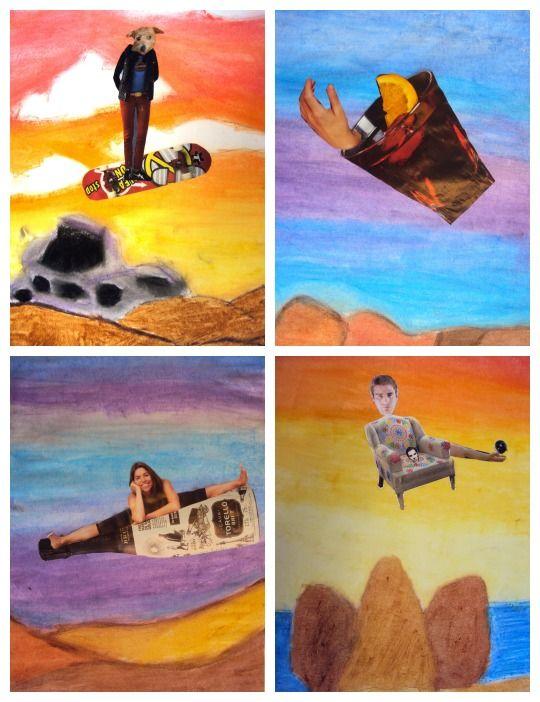 Dali Surrealist Collage