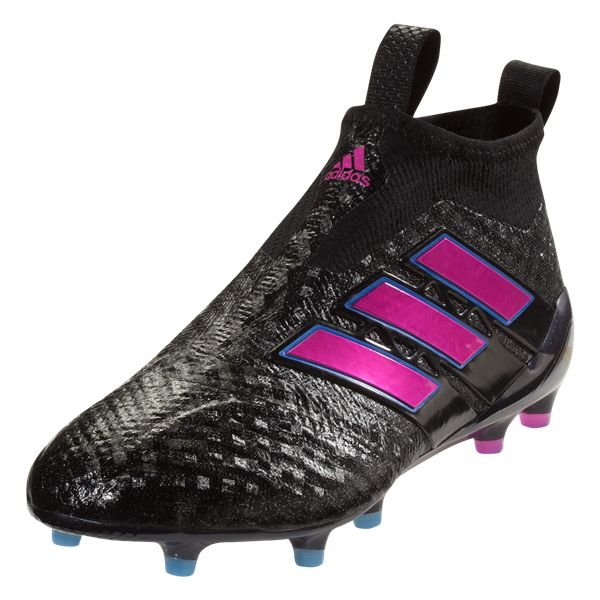 adidas ACE 17+ Purecontrol FG Soccer Cleat (Black/Shock Pink)