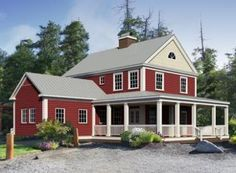 84 best shop house plans images on pinterest small house for Country living magazine house plans