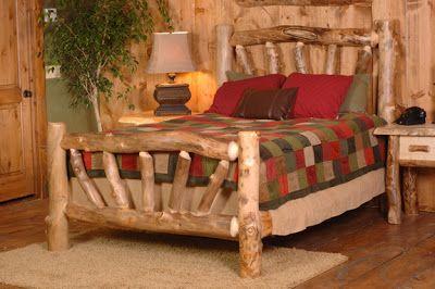 Muebles para Dormitorios y Camas Rústicas - Un Encanto ~ Decorar Tu Habitación