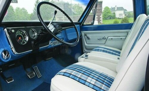 C10 Plaid Bench Seat Digging It Trucks Stuff