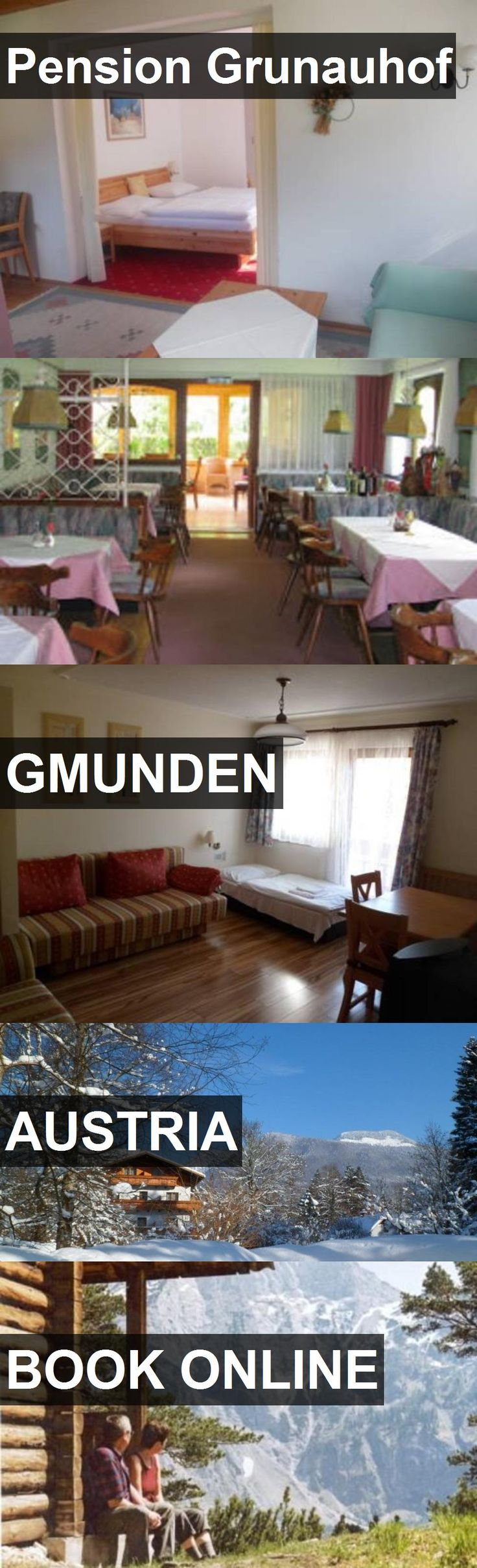 Hotel Pension Grunauhof in Gmunden, Austria. For more information, photos, reviews and best prices please follow the link. #Austria #Gmunden #PensionGrunauhof #hotel #travel #vacation
