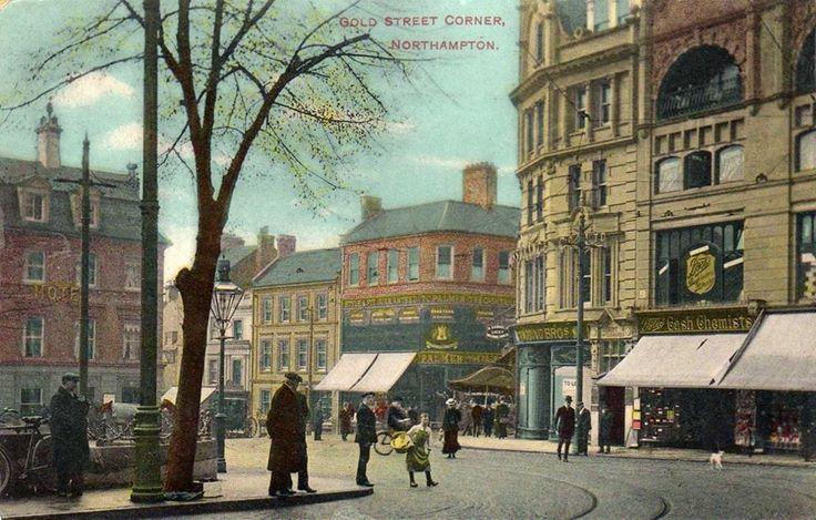 Looking towards Bridge Street and Gold Street