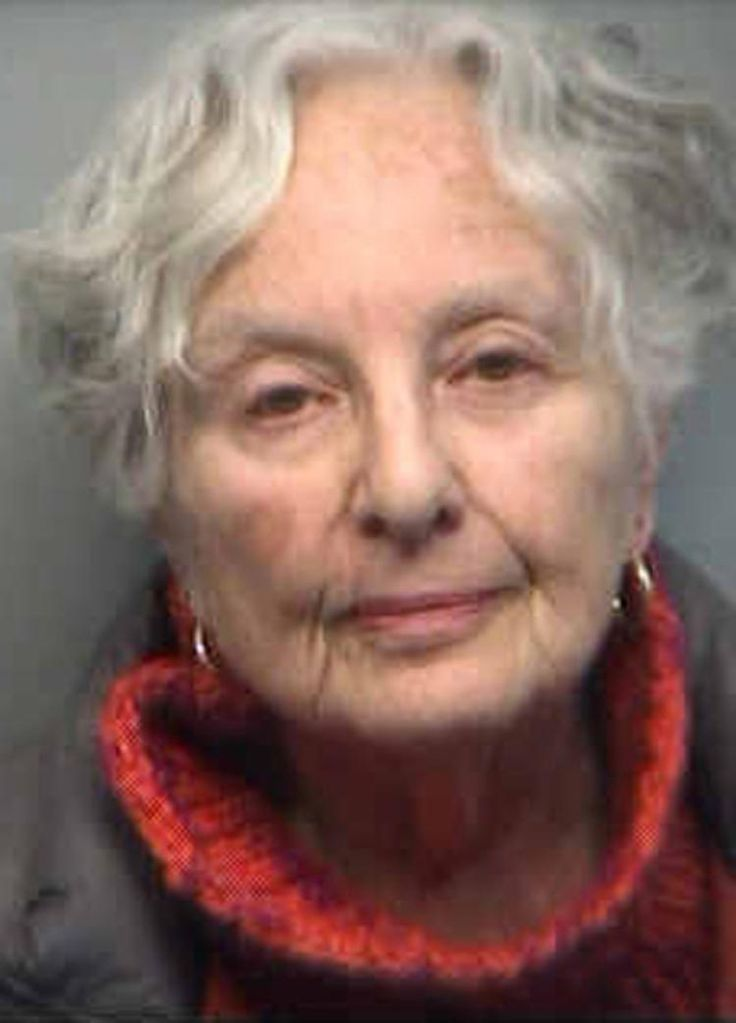 Norma Cheren in her mug shot.  79-year-old Atlanta woman Norma Cheren  was jailed and charged with selling marijuana and possession with intent to distribute, causing her to likely miss her scheduled hip operation.