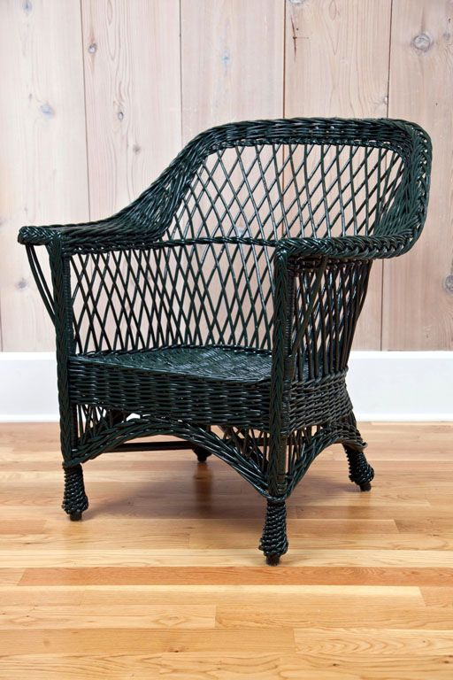 antique bar harbor wicker chairs