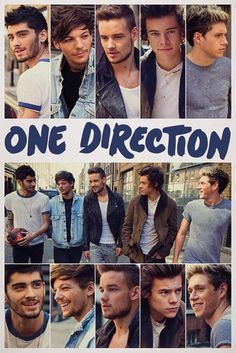 One Direction - Scrapbook - Official Poster. Official Merchandise. Size: 61cm x 91.5cm. FREE SHIPPING