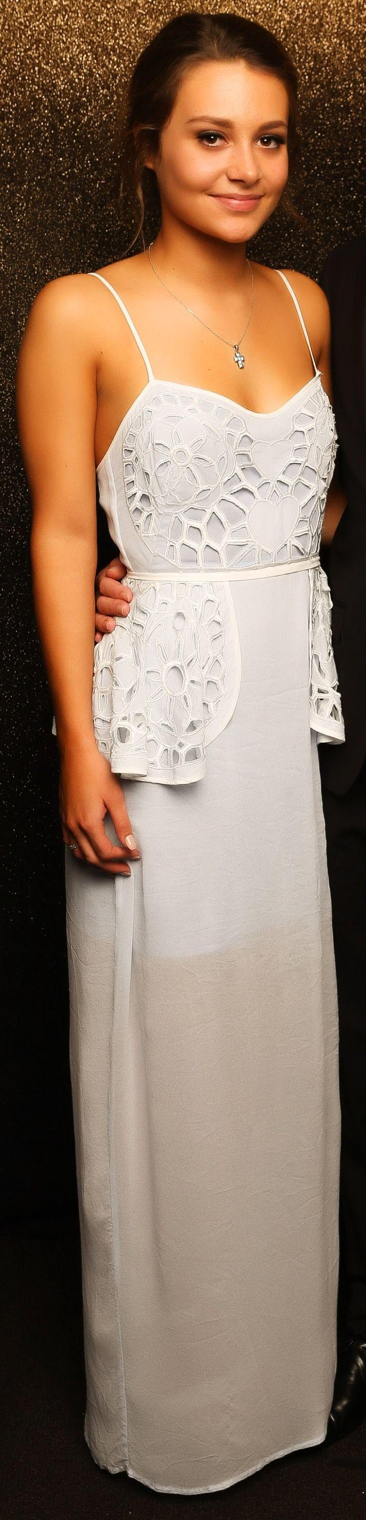 Epsom Girls Grammar Ball 2015. How beautiful is this dress?! www.whitedoor.co.nz